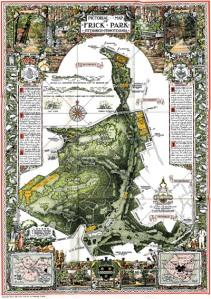Frick Park Map
